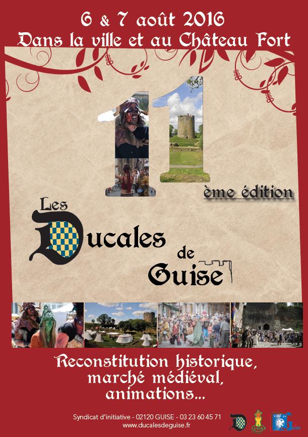 Affiche Ducales de Guise 2016